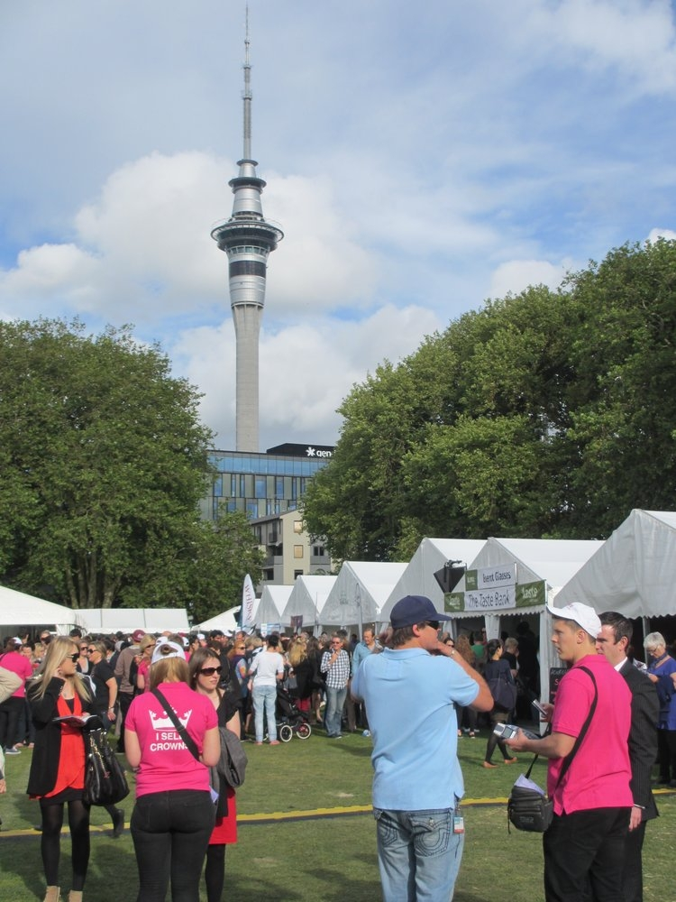 Taste of Auckland kicks off in Victoria Park