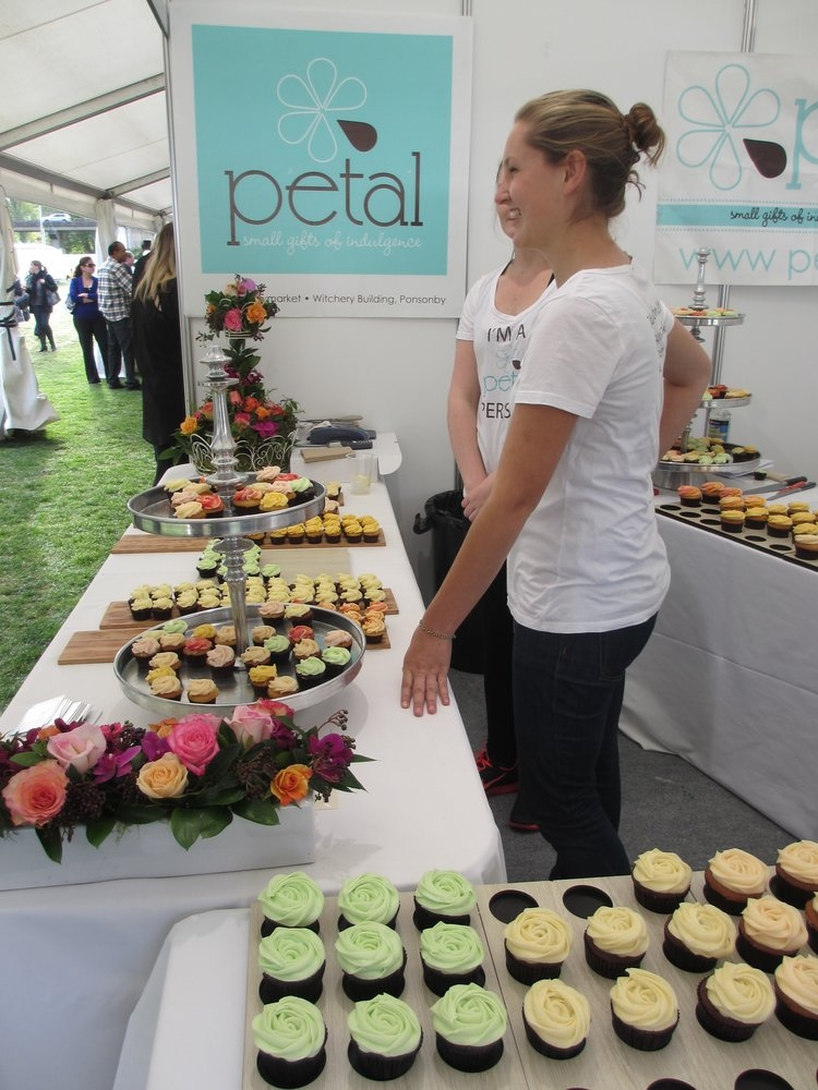 Cupcakes at Taste of Auckland 2012